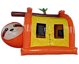 ナマケモノのふわふわエア遊具